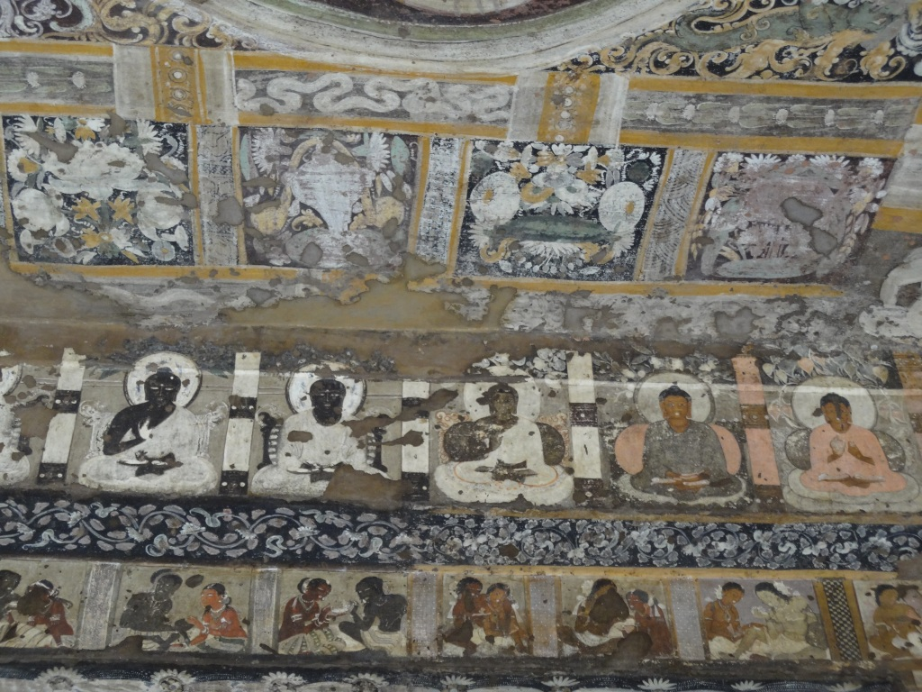 Paintings from portico of Cave 17