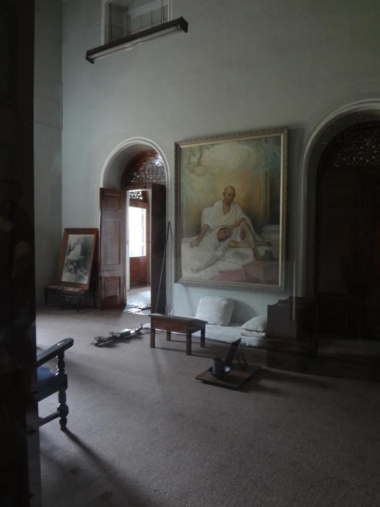 Gandhi's room.
